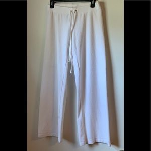 Juicy couture white track pants S